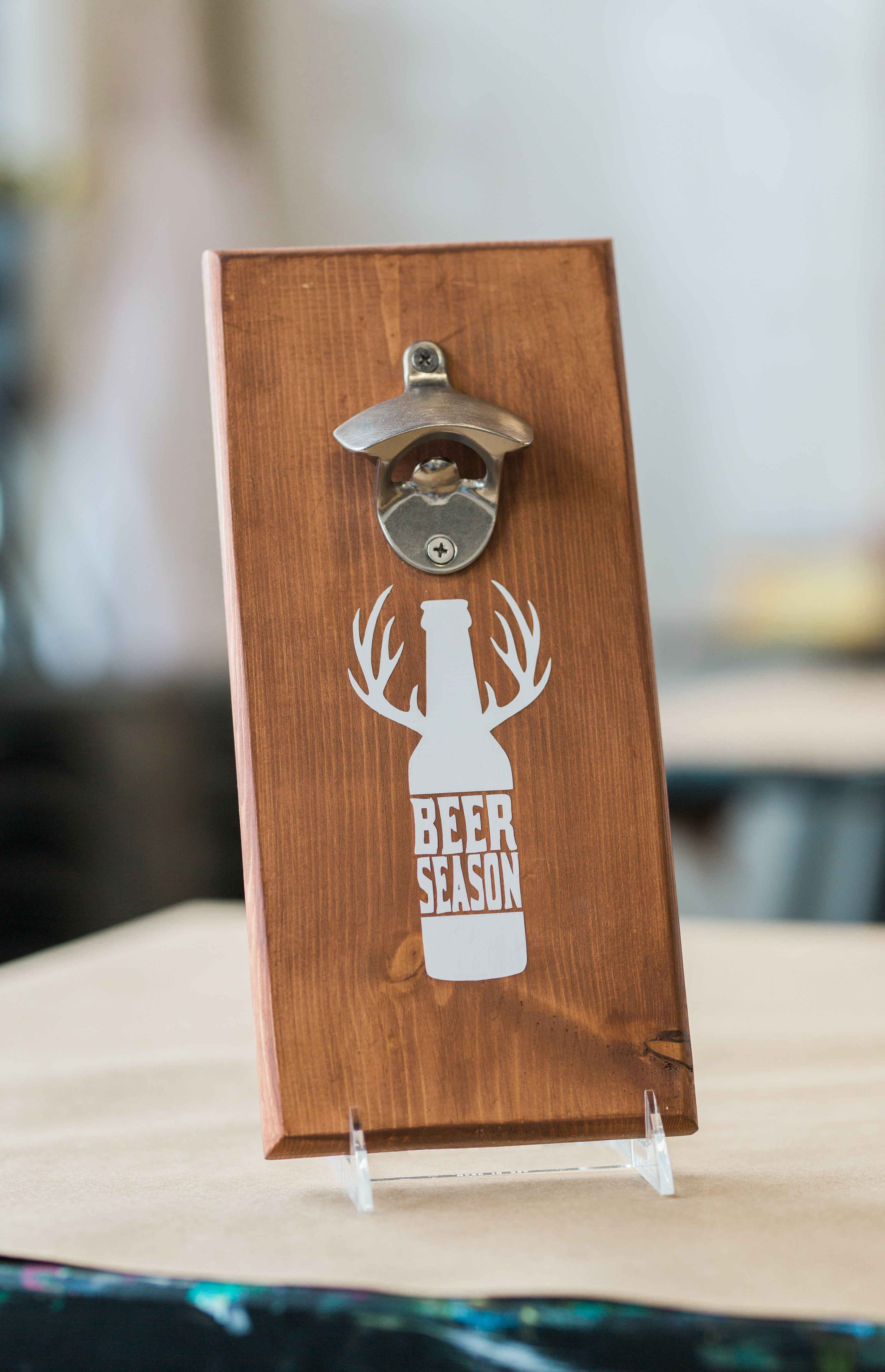Custom Bottle Opener From Pinnovate Beer Season Diy Projects
