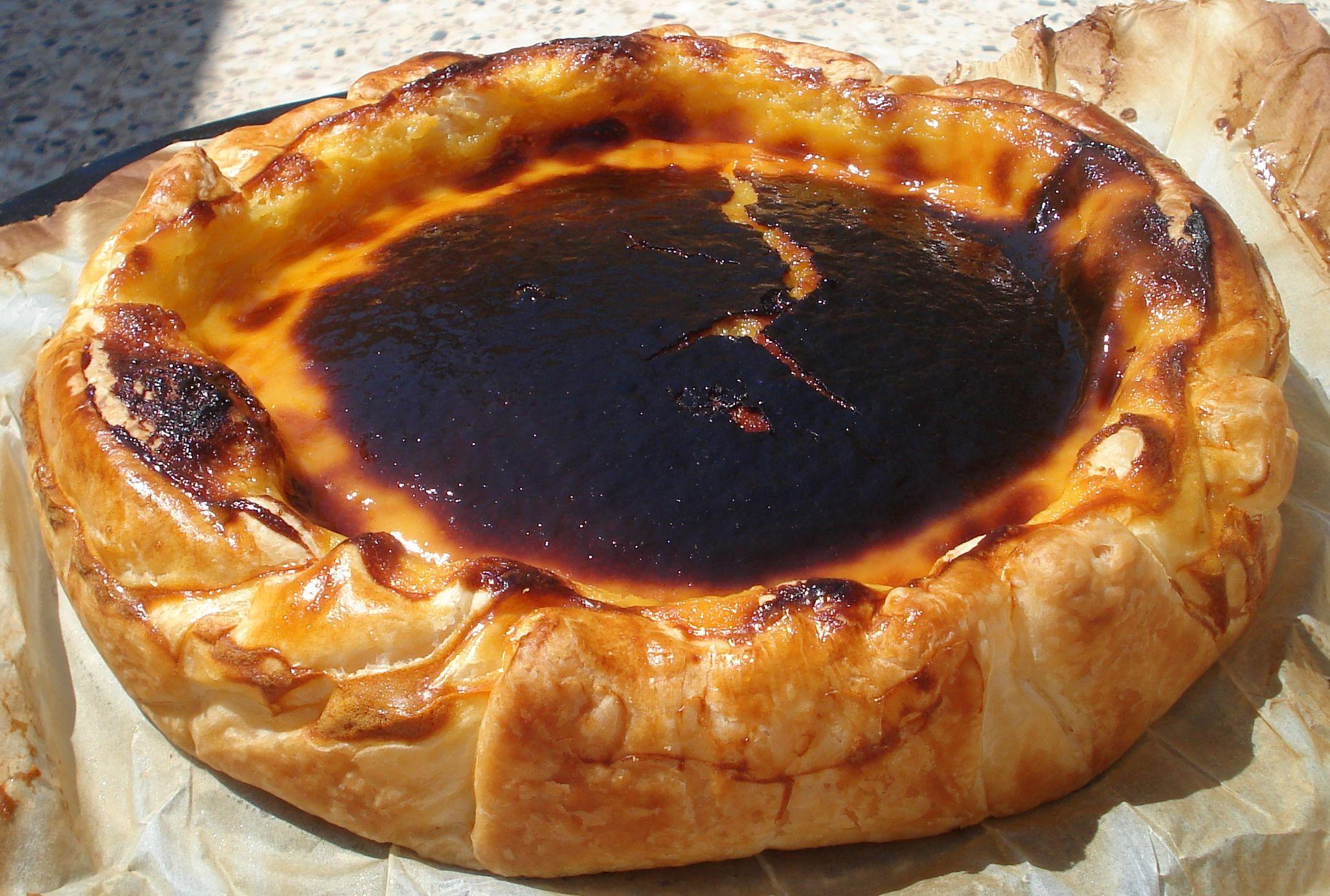 Tarta Pastel de Nata (24cm)