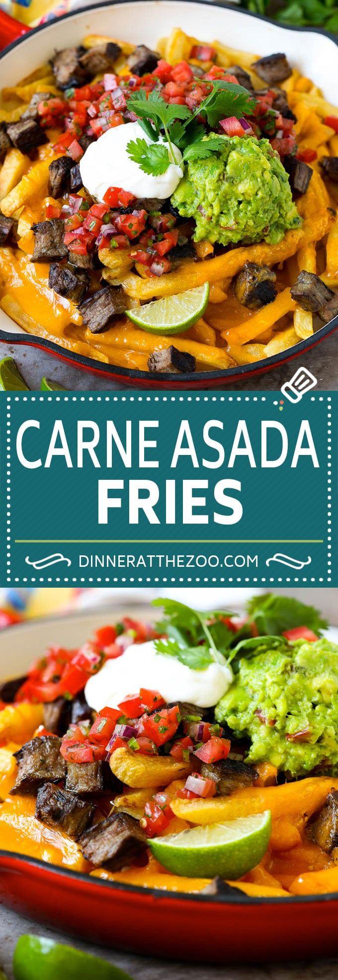 Carne Asada Fries Carne Asada Fries Recipe | Steak Fries