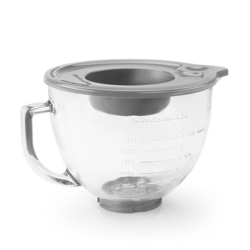 Kitchenaid k5gb 5qt tilthead glass bowl with