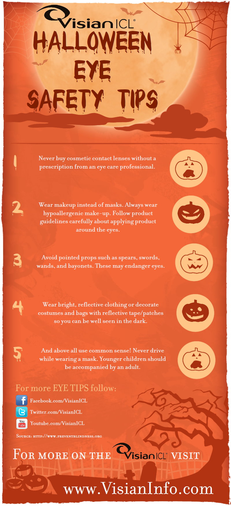 17 best images about eye holidays on pinterest safety glass health and diabetes - Halloween Tips