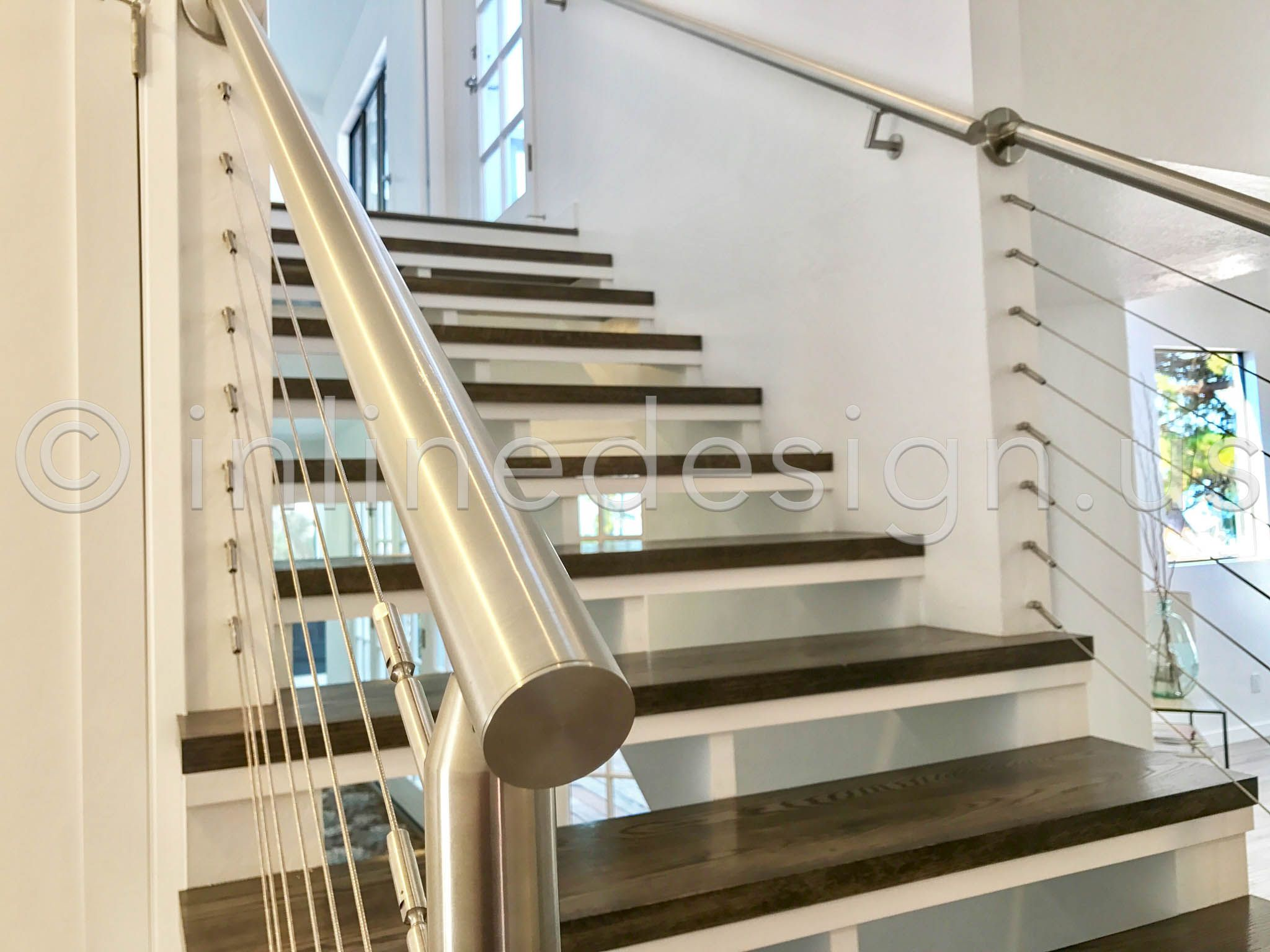 Best Stair Cable Railing In Stainless Steel Stair Railing 640 x 480