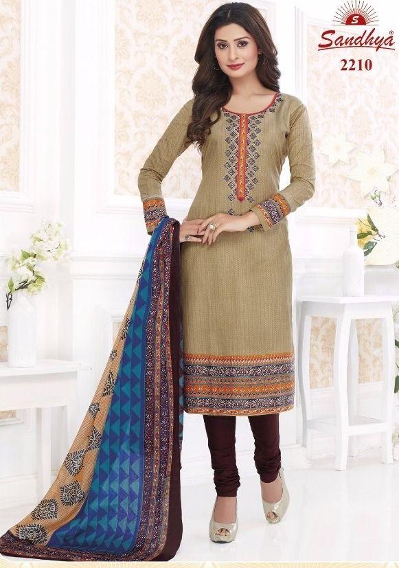 b08c108b42 Sandhya Payal Vol-22 Cotton Suit (17 pc catalog) | wholesale cotton ...
