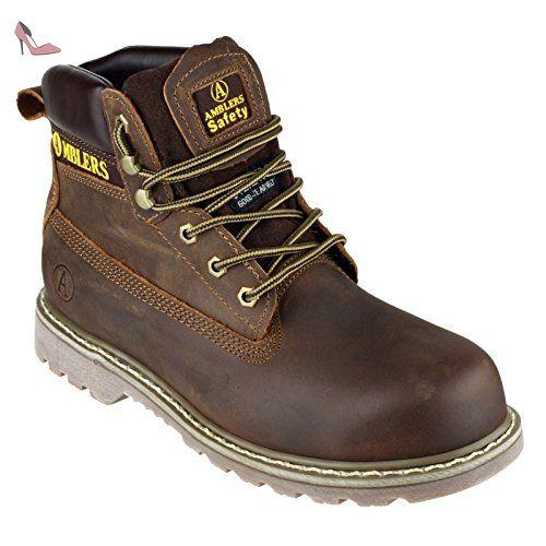 Amblers FS164 - Chaussures montantes de sécurité - Adulte unisexe (47 EUR)  (Marron