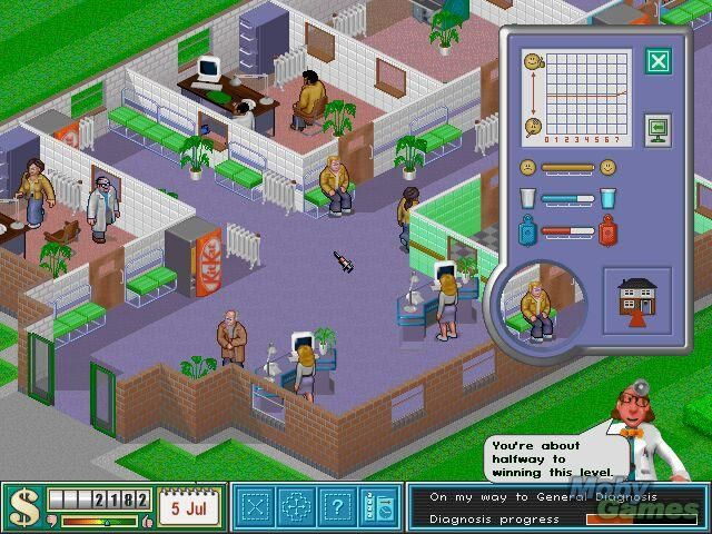 Hospital tycoon | 90s Throwback | Hospital games, Mac games