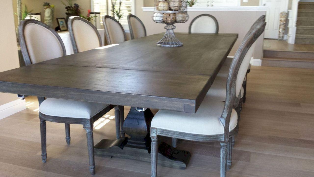 60 brilliant farmhouse kitchen table design ideas and