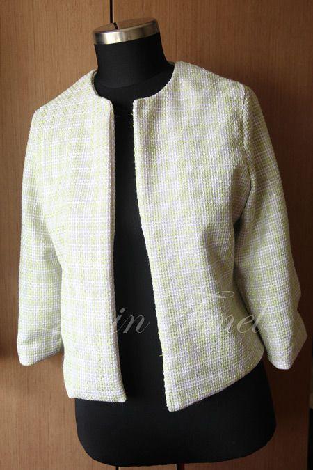 Chanel Ceket Dikim Asamalari Moda Dikis Chanel Moda