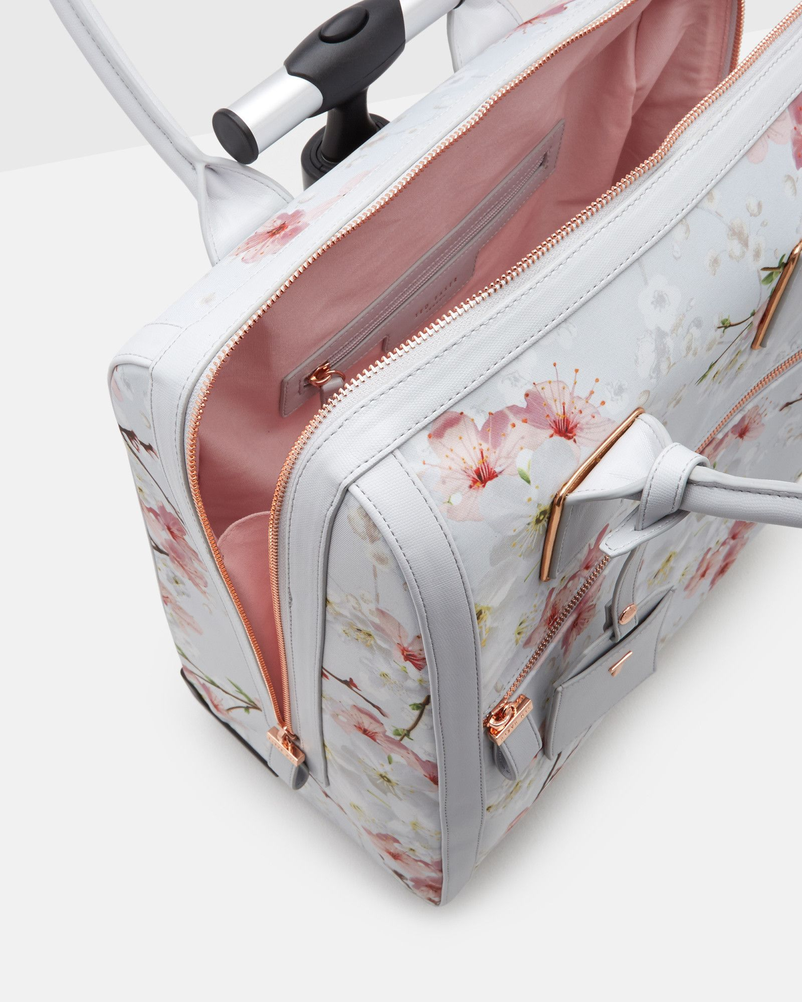Or sleeping bags clothes pegs optional fairy lights optional - Oriental Blossom Travel Bag Light Grey Bags Ted Baker Uk