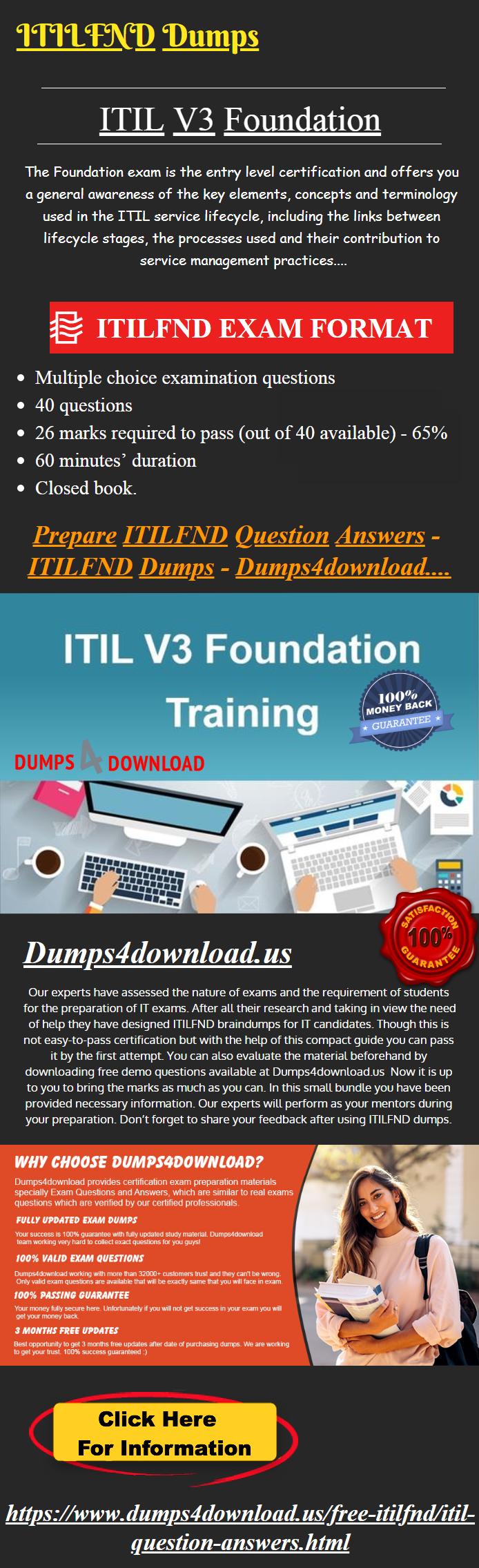 Itilfnd Dumps Valid Itil Itilfnd Exam Study Material Itilfnd