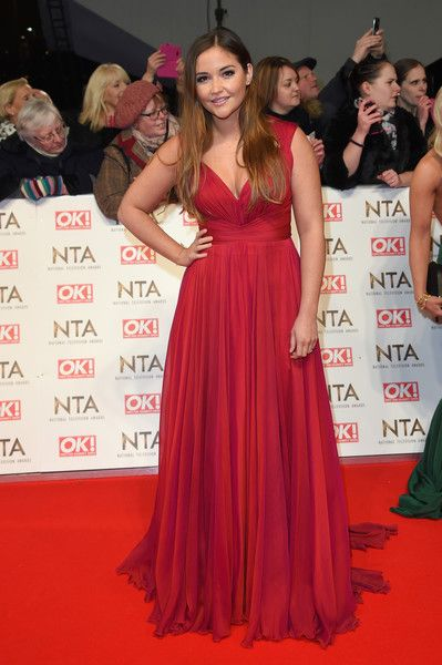 7429234e8d20 Jacqueline Jossa attends the National Television Awards on January 25