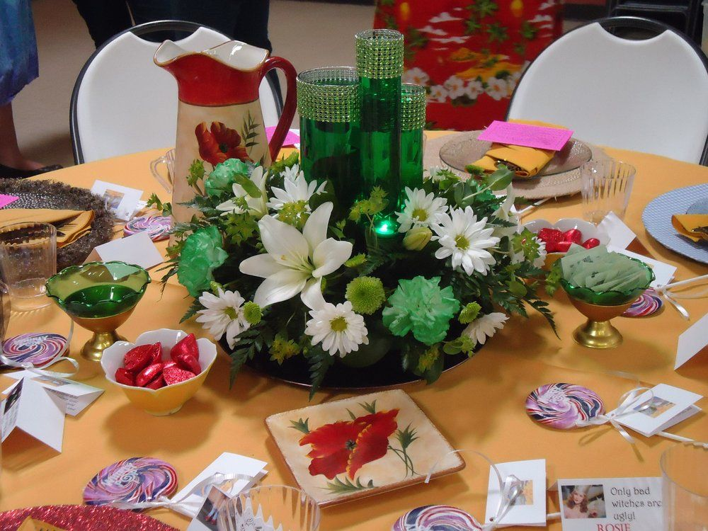 Centerpiece For Wizard Of Oz Themed Table Wizard Of Oz