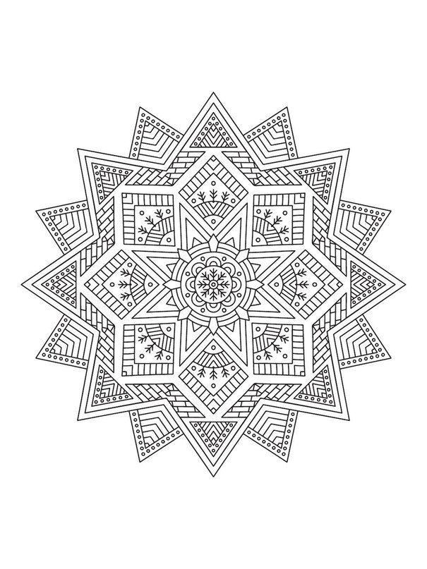 Mindfulness mandalas.   Coloring pages   Pinterest   Mandalas, Adult ...