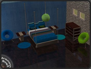 Camera Da Letto Padronale The Sims : Around the sims objects bedroom calypso ts room sets