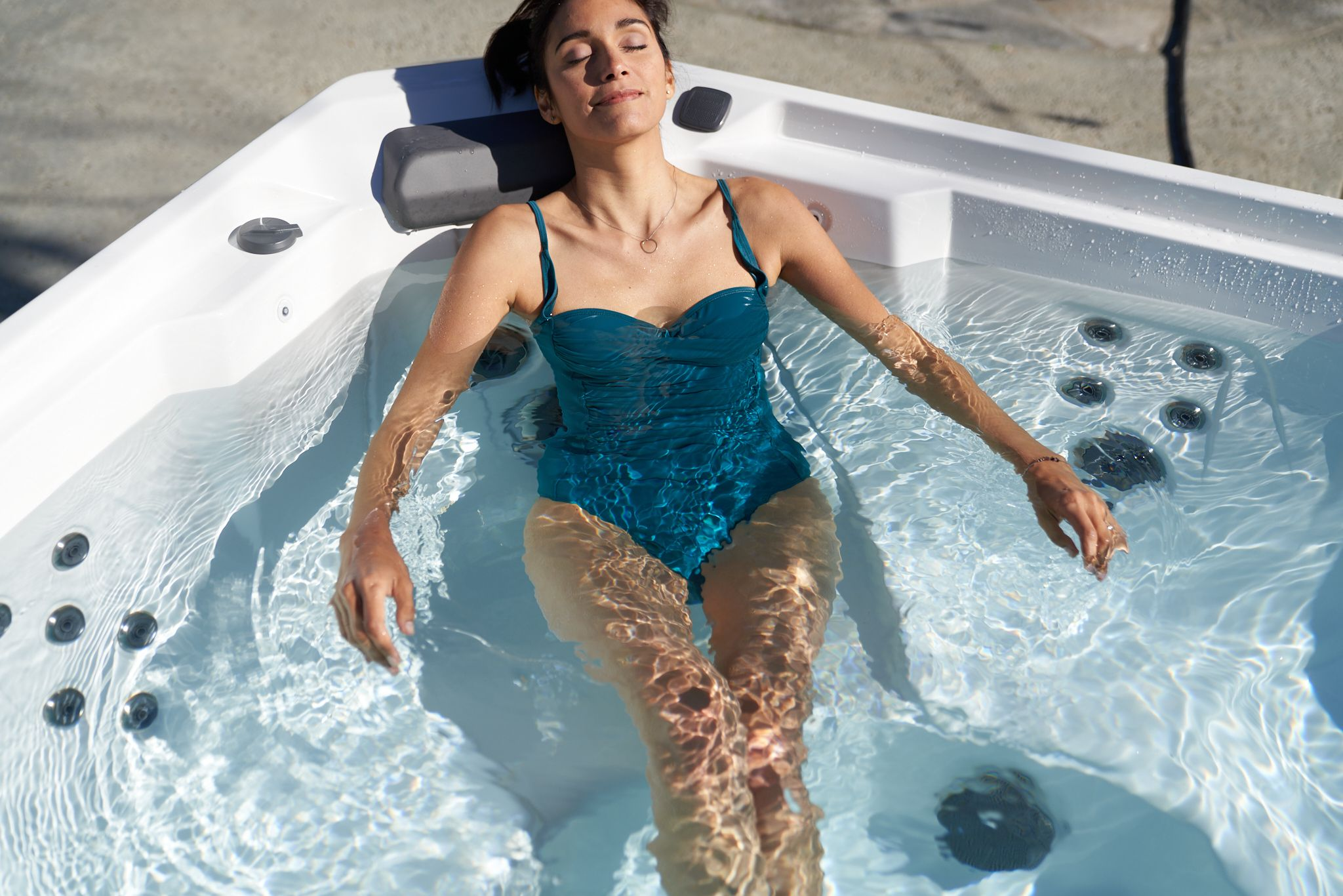 With The Coolzone System You Can Heat And Cool Your Spa Water