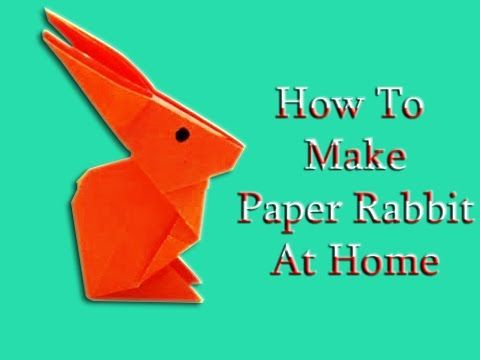 Origami Rabbit Instructions and Diagram | 360x480