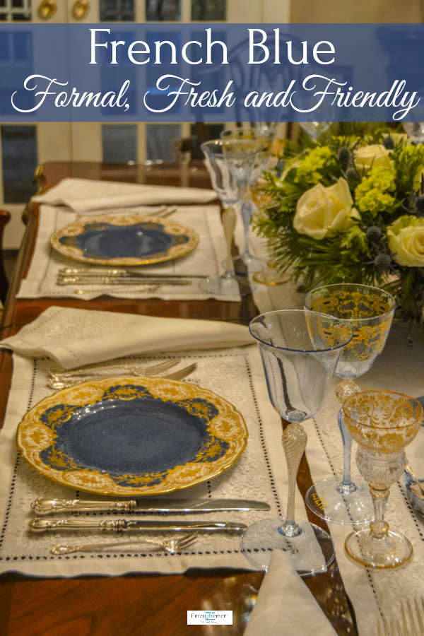 Ringing in 2019 with a New Year's Eve Dinner Tablescapes