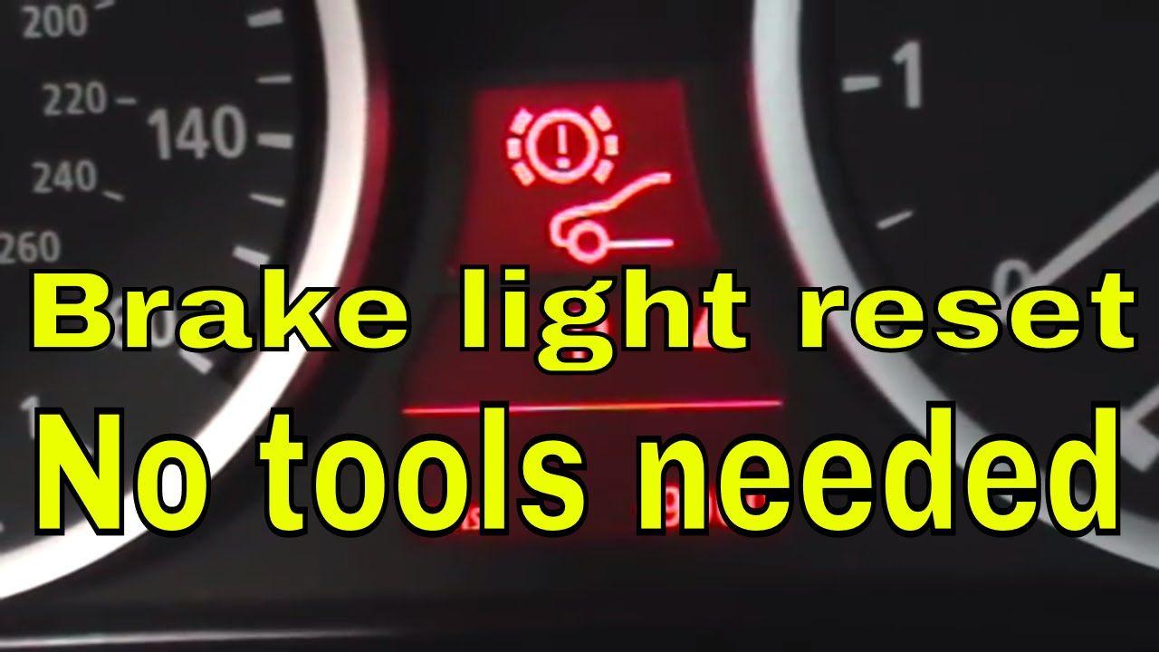 how to reset brake pad light on BMW Brake pads, Oil