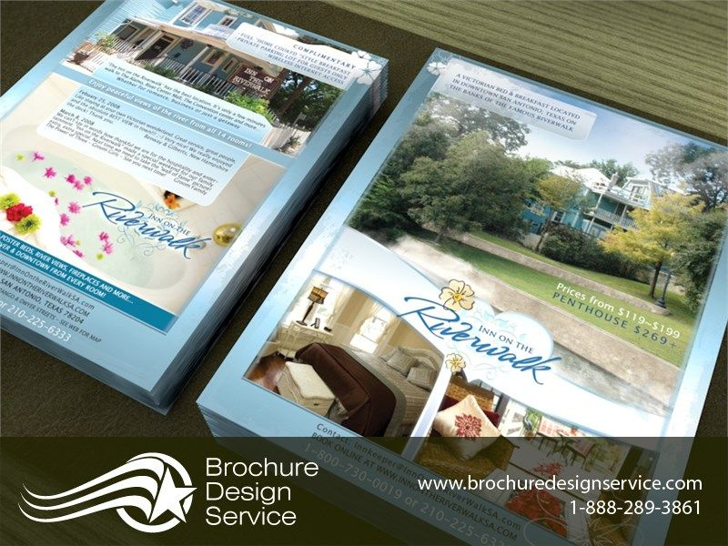 Brochure Sample Inn On The Riverwalk DoubleSided Flyer Ltr