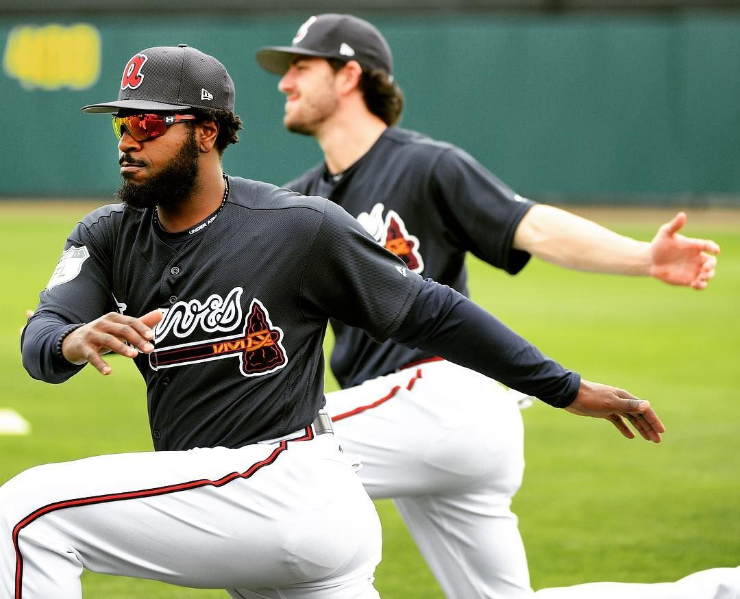 There Are A Lot Of Web Gems Coming To A Theater Near You In Atlanta Datdudebp On Playing With Dan Atlanta Braves Atlanta Braves Baseball Braves Baseball