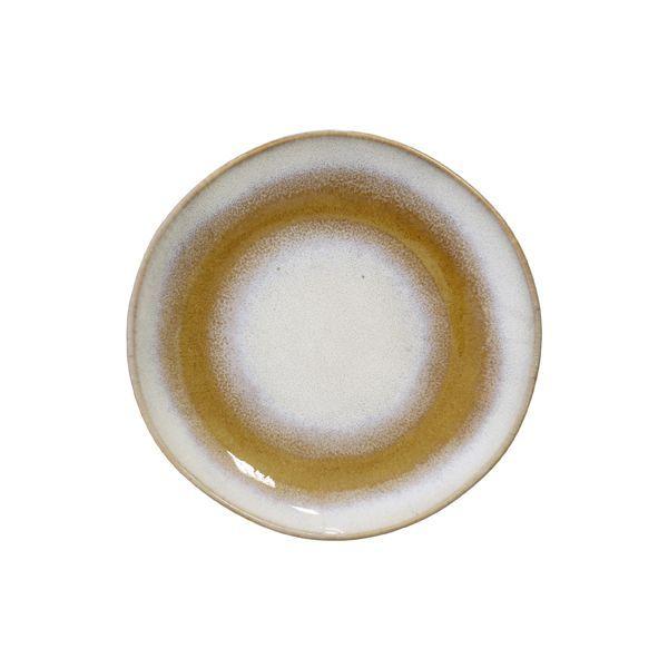 DessertTeller 70ies Snowy 2erSet Rustikale keramik