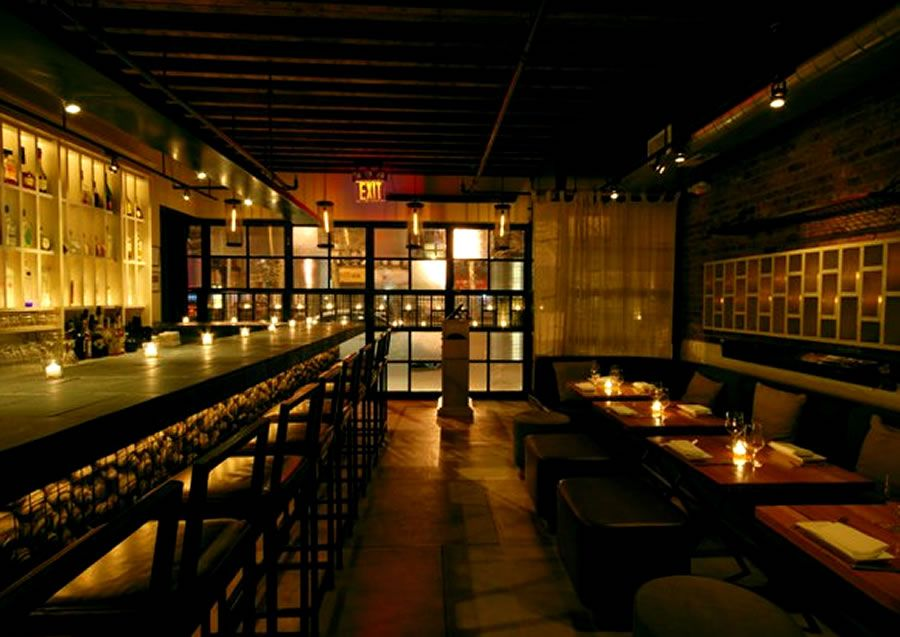 contemporary decor restaurant interior design rayuela lower east side nyc