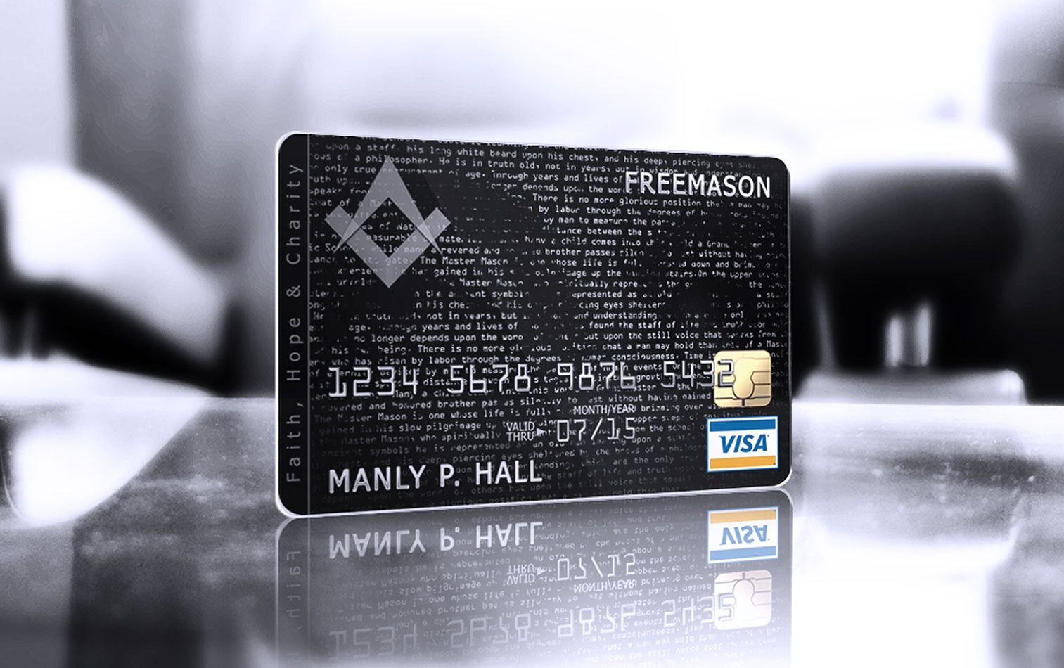 Freemason corporate id design by larym design pinterest best business credit cards new invitation cards magicingreecefo Image collections