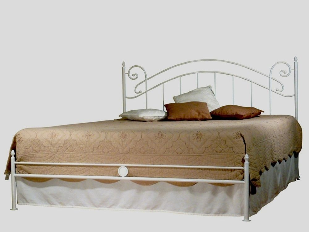 Metallbett 160x200 Weiss Lackiert In Individuellem Design Inkl Lattenrost Ebay Bed Home Decor Furniture