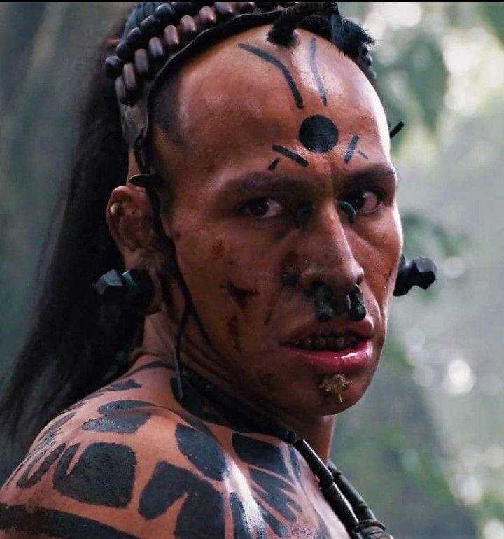 Gerardo Taracena Middle Eye Apocalypto Apocalypto Aztec Warrior Aztec Culture Mayan Art