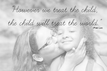 However you treat the child