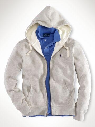 0166e32fa6da Classic Fleece Hoodie - Sweatshirts   Hoodies Men - Ralph Lauren UK ...