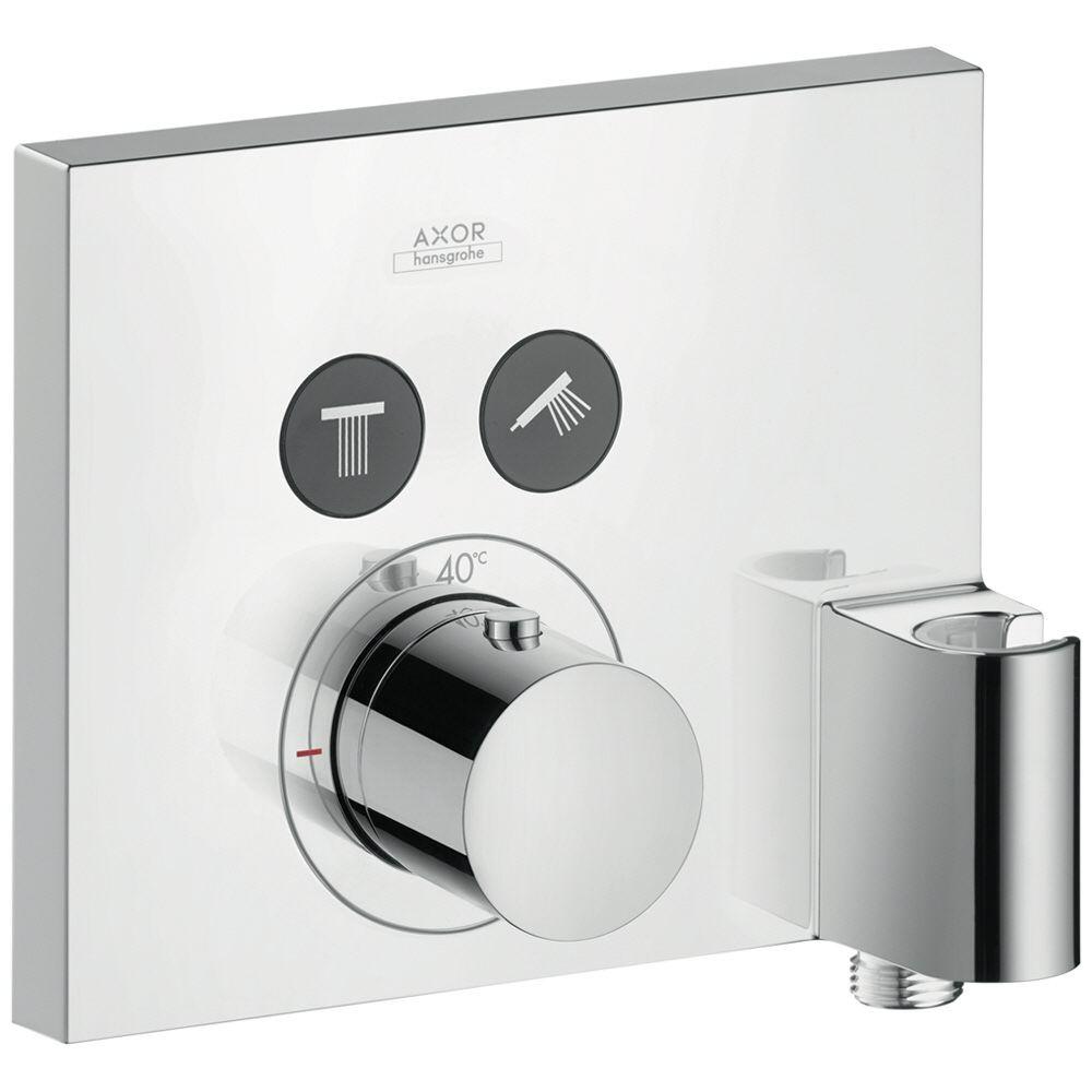 Axor ShowerSelect Square Thermostat für 2 Verbraucher mit