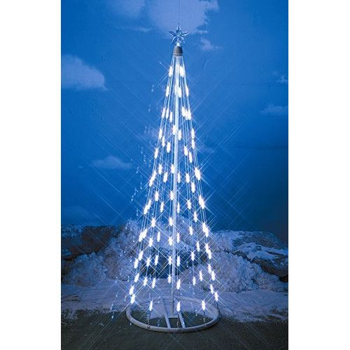 Homebrite Solar String Light Cone Tree Christmas Decoration Xmas - solar christmas decorations
