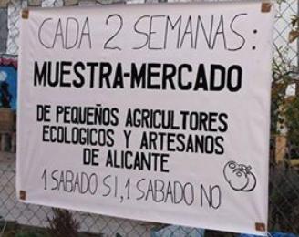 MERCADO DE PEQUEÑOS AGRICULTORES ECOLÓGICOS Y ARTESANOS