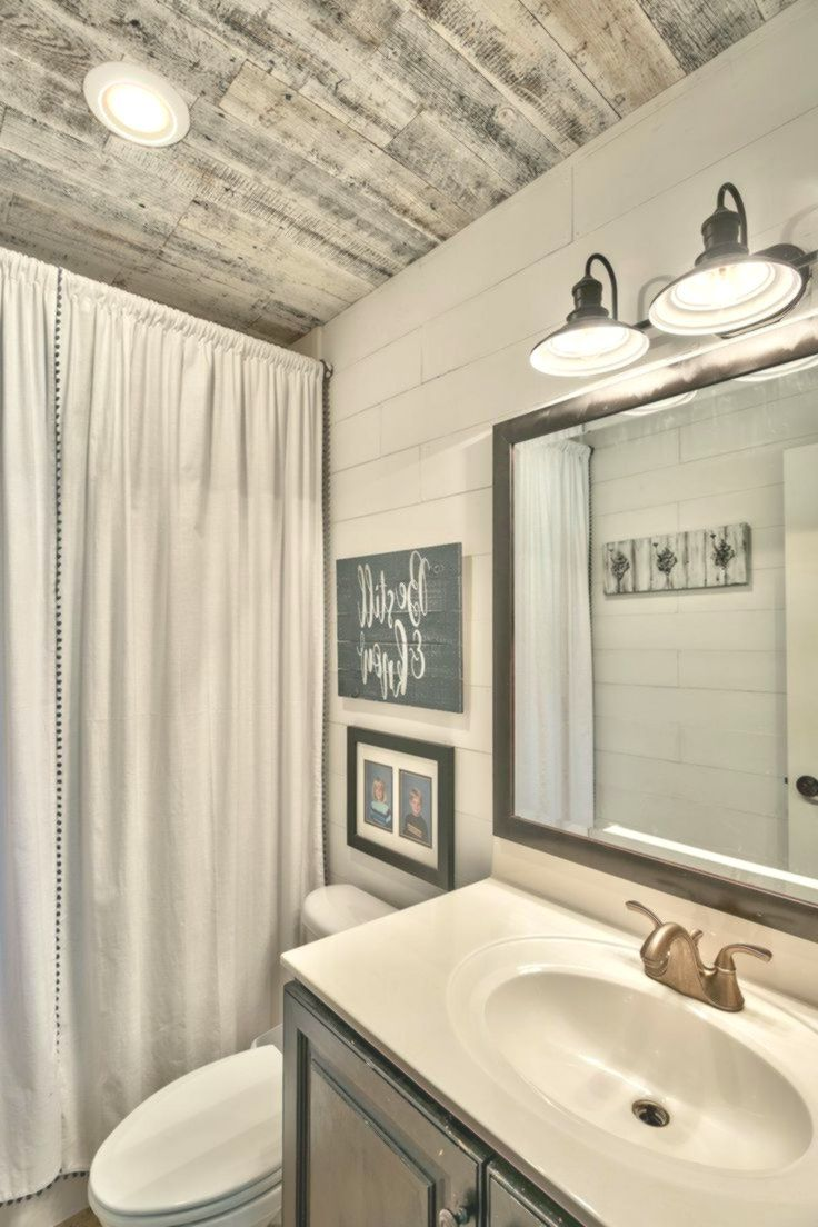 Bathroom Remodel With Stikwood: Rustic Farmhouse Living Room, Farm