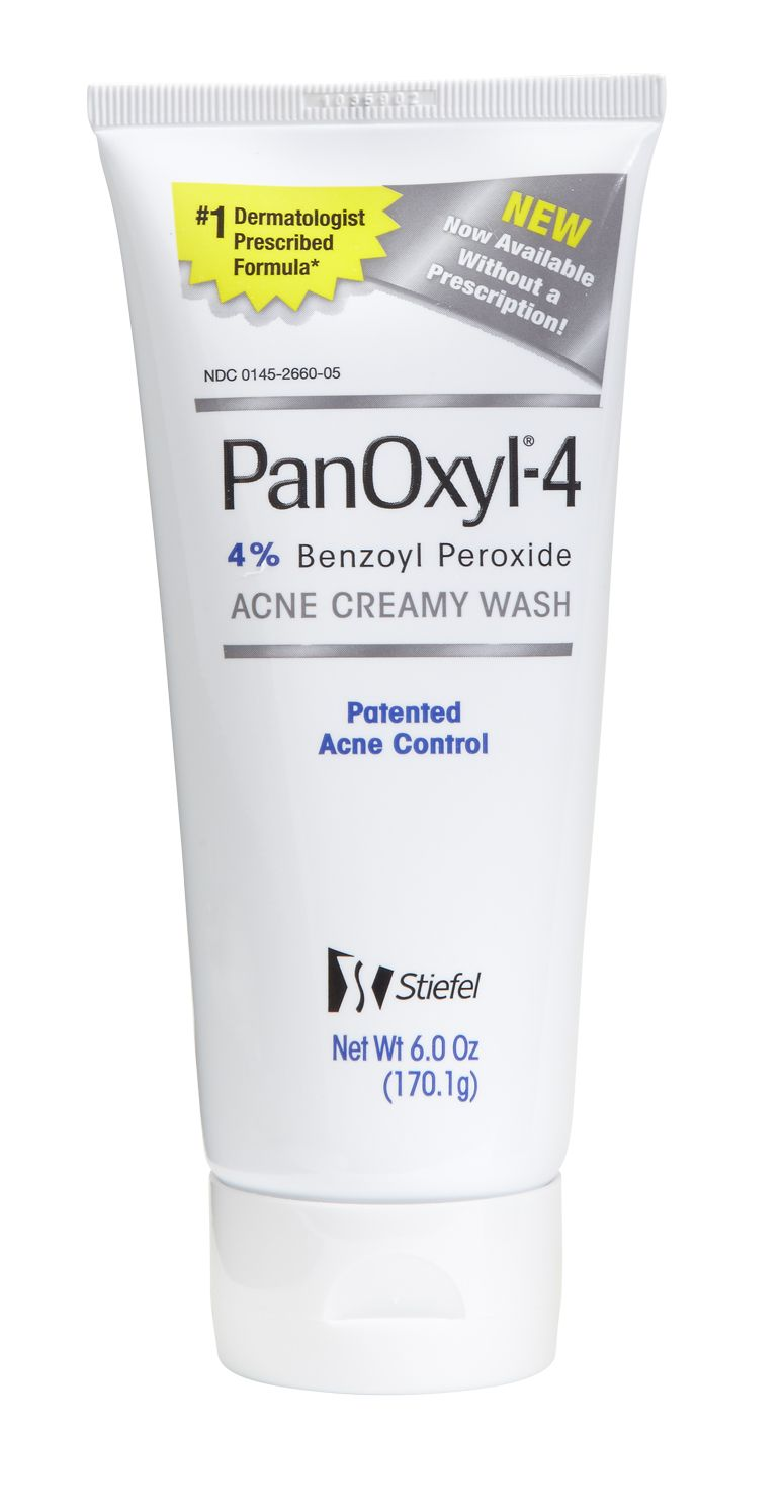 Panoxyl 4 Acne Creamy Wash Has Been Our Recommended Otc
