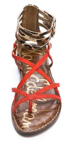 7212123d9627f Sam Edelman Gable Strappy Haircalf Sandals