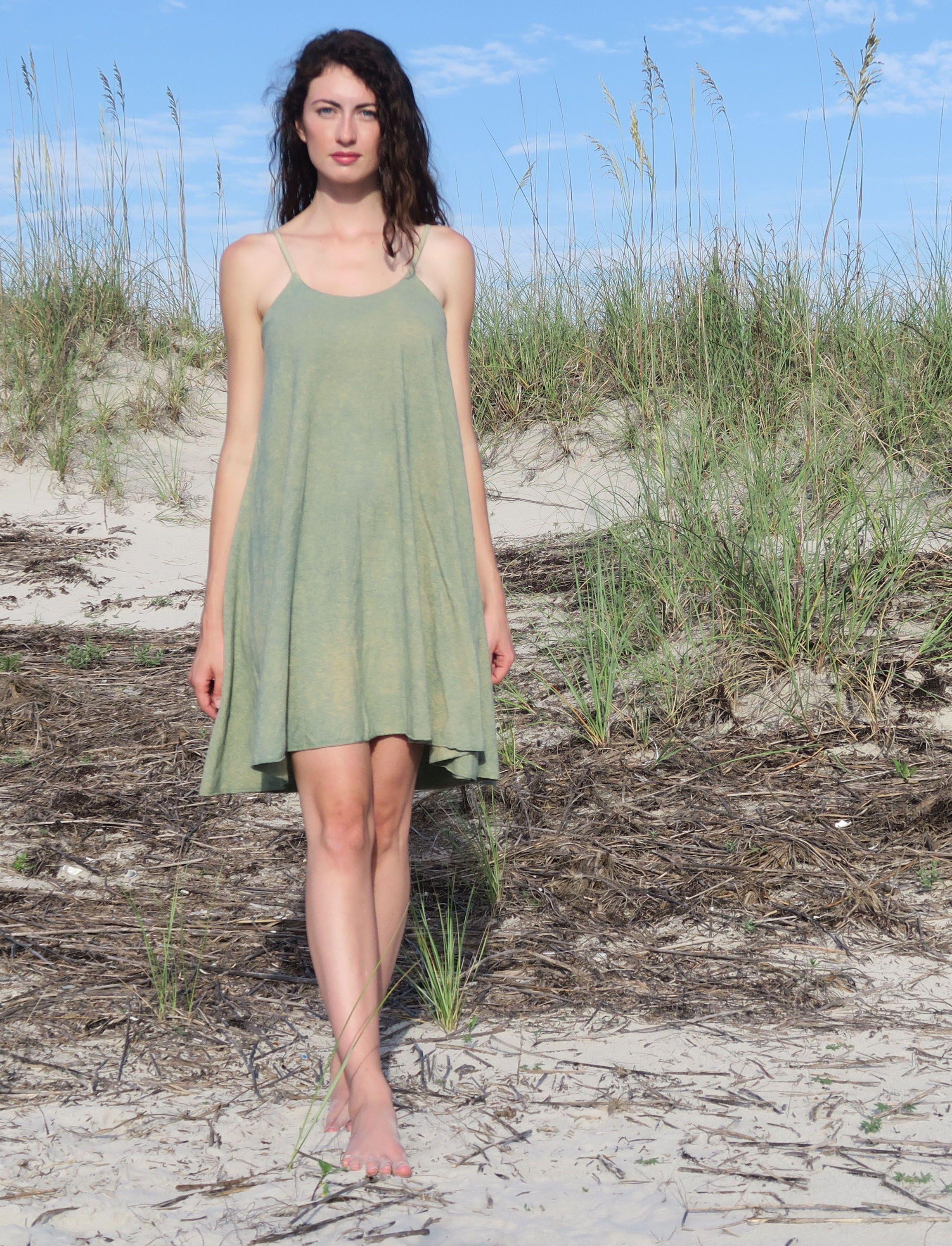 Adjustable Strap Built In Bra Wanderer Short Dress Gaia Conceptions Short Dresses Dresses Organic Cotton Knit [ 3016 x 2306 Pixel ]