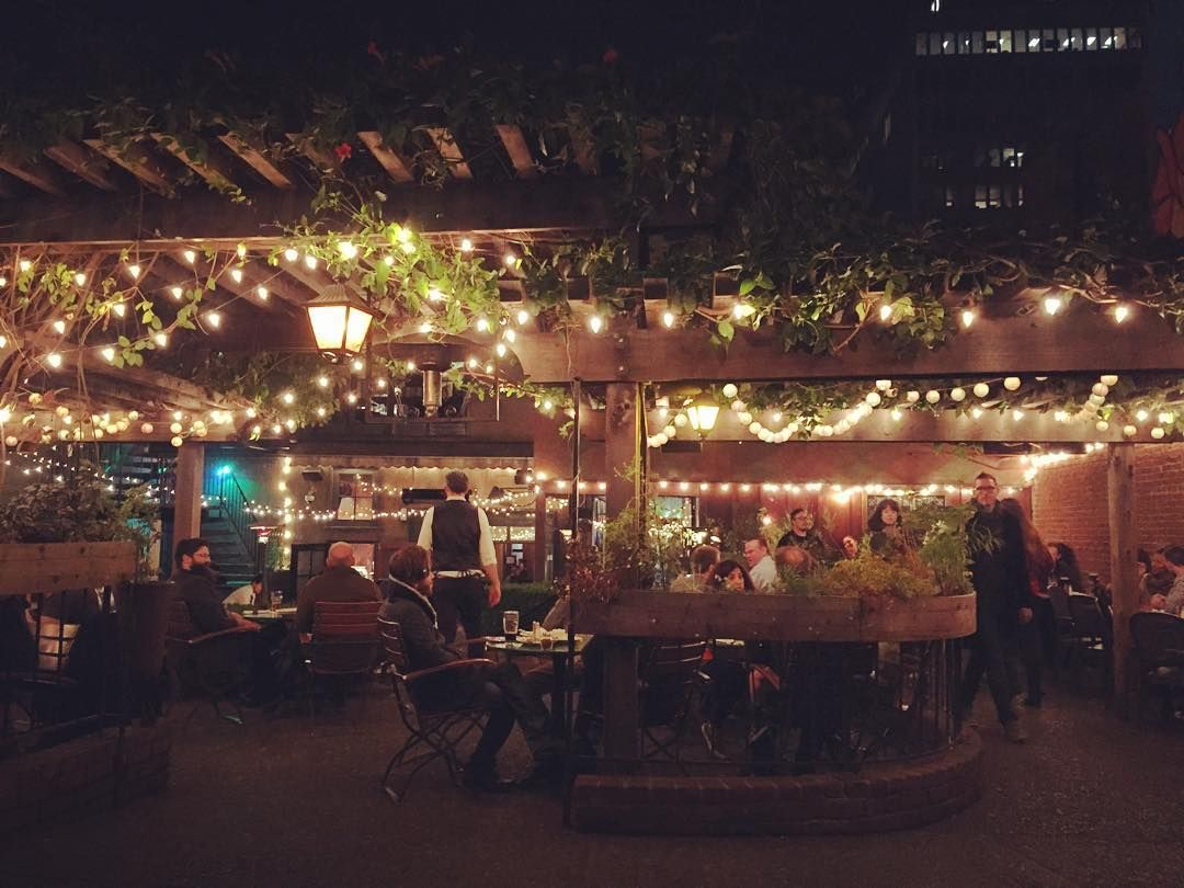 Perfect night for a beer garden with @vaya_con_smith by crfischer723 ...