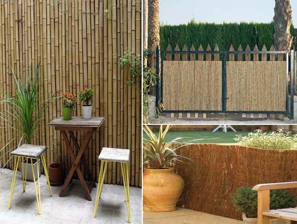 Cerramiento ca izo terraza balcon pared pinterest ideas for Como cubrir una pared