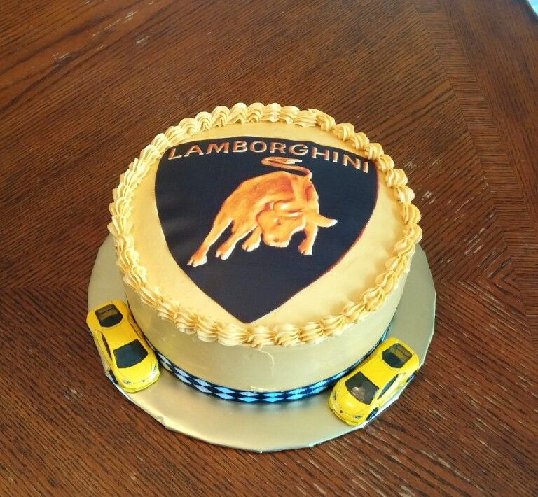 Lamborghini Cake For A Birthday Boy April 2015 By