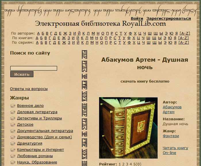 Российские электронные библиотеки читать и