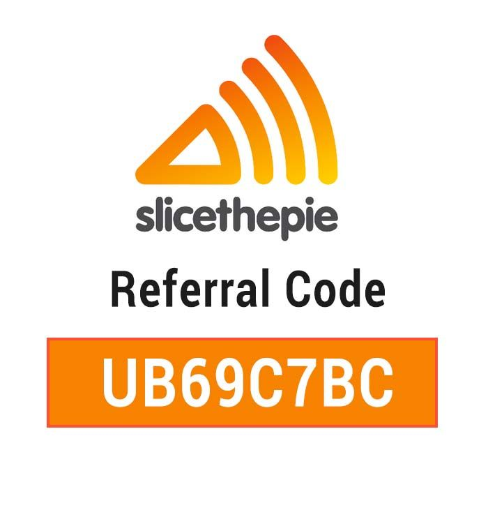 SliceThePie Referral Code: Use UB69C7BC to get a free signup BONUS