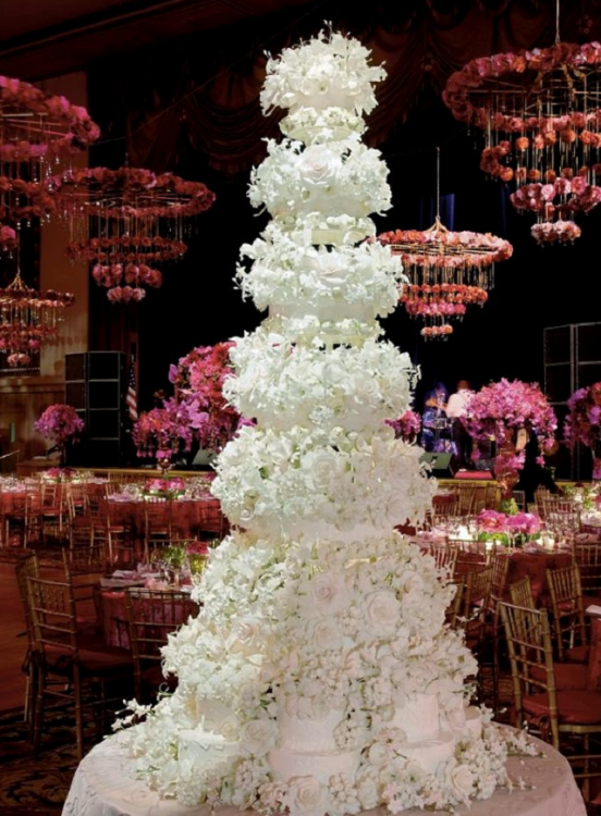 Top ten Most Expensive Celebrity Wedding Cakes In The ...