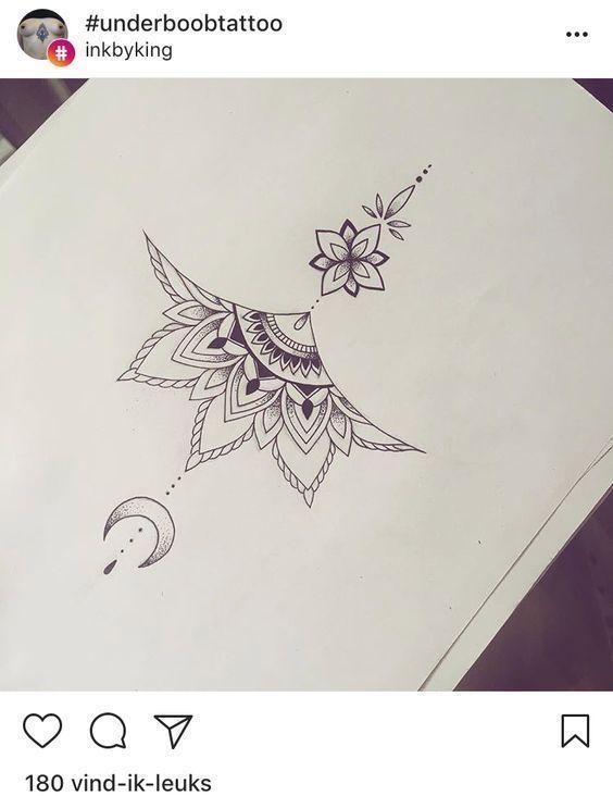 Photo of mandala tattoo design underboob – # #mandala design #tattoo # Underboob- # mandala #tattoo #tatuaje