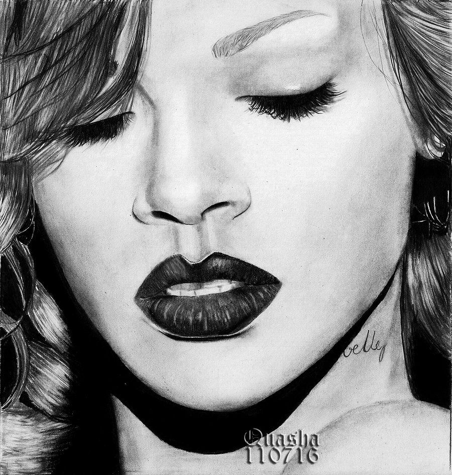 Rihanna | Art | Pinterest | Rihanna, Drawings and Drawing ...