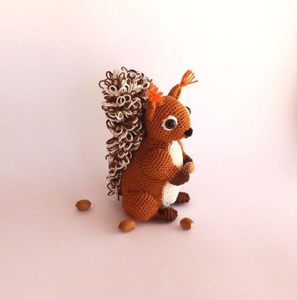 Häkelanleitung Eichhörnchen Häkeln Und Stricken Pinterest