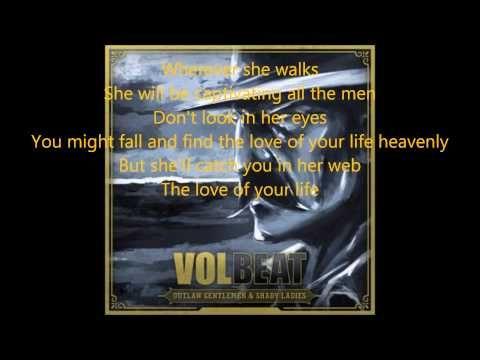 Volbeat - Lola Montez (lyrics) | Music <3 | Music love