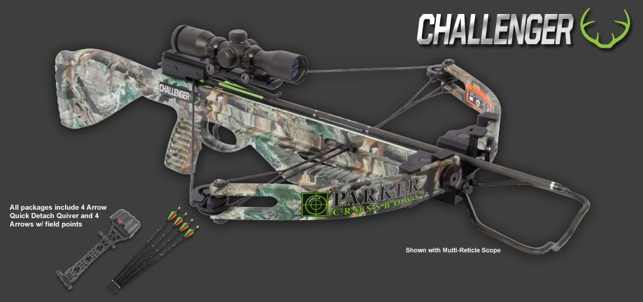 Parker Bows Challenger Youth Ladies Crossbow My Xmas