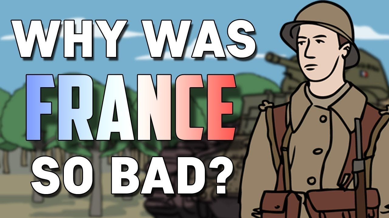 Why was France so Ineffective in WWII? (1940) Animated