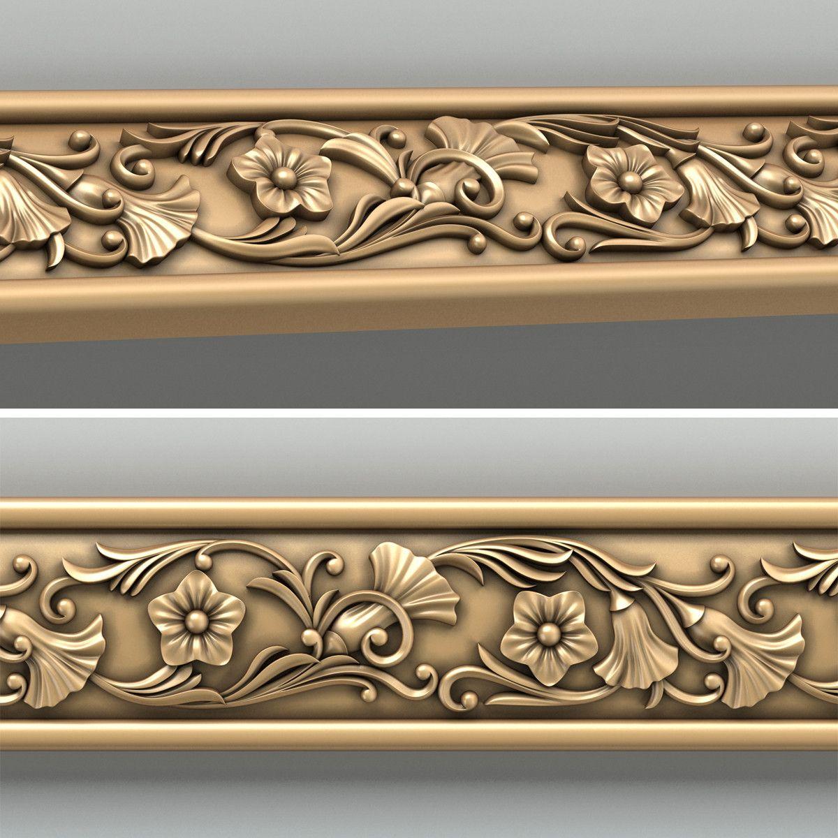 Wonderful 3d Decorative Molding Model